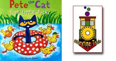 Only Kats Video: Pete the Cat Five Little Ducks   Kids Books