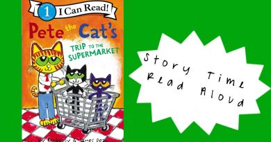 Only Kats Video: Pete The Cat's Trip To The Supermarket   Read Aloud Story Time   Shon's Stories